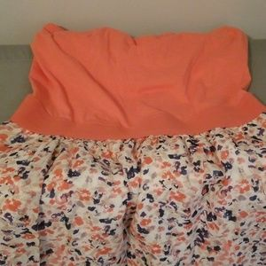 Guess tube top dress